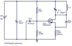 Fm Radio Jammer Diagram