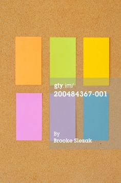 Colorful Sticky Note Papers High-Res Stock Photography | Getty Images | 200484367-001