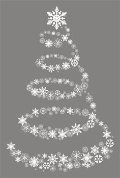 Fancy Christmas Tree Window Cling                                                                                                                                                                                 More