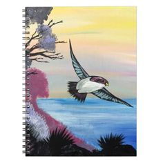 A Birds View Notebook - animal gift ideas animals and pets diy customize