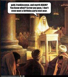 Lol Jesus Bday party