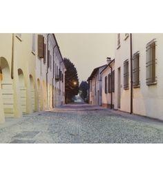 Sabbioneta, Dal palazzo Ducale verso nord, 1989