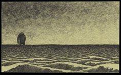 Monster illustrations by John Kenn