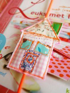 Eline Pellinkhof - lovely bookmark idea
