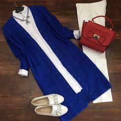 Hijab Fashion, Fashion Dresses, Modele Hijab, Sewing Blouses, Hijab Style, Outfit Combinations, Hijab Outfit, White Fashion, Frocks