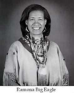 Ramona Big Eagle, M.Ed. (Tuscarora/Cherokee) is an Oral Historian and Legend Keeper of the Tuscarora Nation of North Carolina. Her workshops and programs of American Indian culture and history delivered through the art of Storytelling, authentic artifacts, music, drumming, dance, and crafts have been educating and empowering audiences of all ages since 1976.
