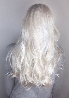 Gorgeous ice blonde ~ #iceblonde #icyblonde #veryblonde #whiteblonde #hairsalon