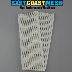 East Coast Dyes Wax Lacrosse Mesh 15mm Semi-Soft Wax Field Mesh 1 Color Fade