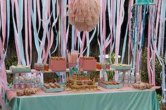 Tiffany's mermaid party
