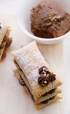 Laminated Chocolate Fondant -chocolate --fondant dessert -snack -sweet -pastry -recipes