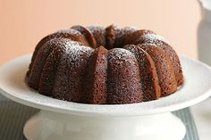 You'll love this moist cake with its sugary crust!