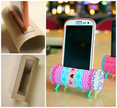 Inspiration* screen shot for craft folder diy & crafts декор комнаты, п Diy Crafts For Teens, Diy Crafts Hacks, Diy Arts And Crafts, Cute Crafts, Diys, Diy Phone Stand, Folder Diy, Craft Projects, Screen Shot