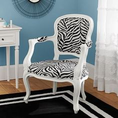 Zebra Ooh La La Armchair