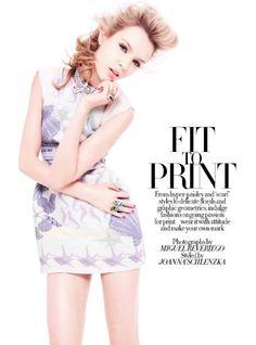 Versace Spring Summer 2012 Editorial