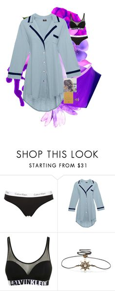 """Untitled #251"" by zazabinks on Polyvore featuring Calvin Klein Underwear, Cosabella, Calvin Klein, Gucci and Dogeared"