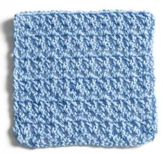 Stitchfinder : Crochet Sampler Square: V-Stitch : Frequently-Asked Questions (FAQ) about Knitting and Crochet : Lion Brand Yarn