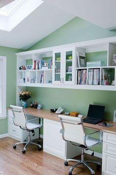 long desks for home office. modern diy home office desk ideas 03 study rooms desks