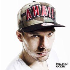 STRASSENKICKER  AHA‼️ • POLDI • AHA!! • CAMOFLAUGE •  9FIFTY • SNAPBACK •  #poldi #lp10 #aha #9fifty #snapback #strassenkicker #streetwear #style  www.strassenkicker.com