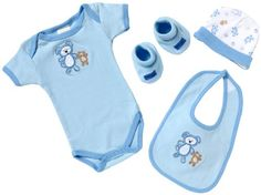 Playshoes Geschenk-Set - 4-teilig 521701 Baby - Jungen Babybekleidung/ Bekleidungssets, Gr. one size Blau (bleu 17) - [ #Germany #Deutschland ] #Bekleidung [ more details at ... http://deutschdesign.apparelique.com/playshoes-geschenk-set-4-teilig-521701-baby-jungen-babybekleidung-bekleidungssets-gr-one-size-blau-bleu-17/ ]
