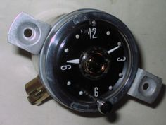 1955 Clipper Clock - Serviced and Working with a 30 Day Guarantee plus FREE SHIPPING - $139.88