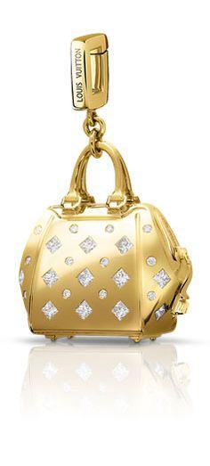 Louis Vuitton Handbag Charm ,