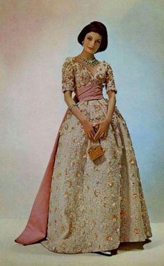 Fashion by Nina Ricci, 1959.