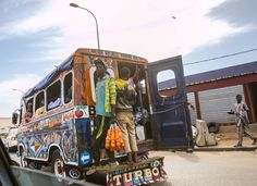 Dakar's streets