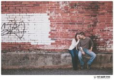 red apple tree photography: Jessica + Kyle Family and Couples Portrait Session, Greenville SC