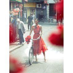 When you wear a Michaux bag we hope you feel as elegant as Liu Wen on your cycle commute. Visit our shop to choose your cycling friendly handbag at www.michauxclub.com/shop. #cyclestyle #cyclinginheels #girlsonbikes #bikebag #handbag Read Less