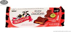 I received the Skinny Cow Peanut Butter Creme Chocolates from influenster in my holiday voxbox. They're pretty amazing