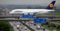 Airbus A380 crossing the Autobahn at Leipzig airport - Imgur