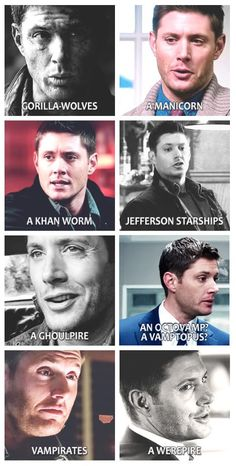 Dean naming new monsters😂