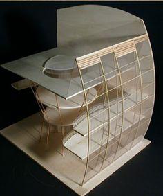 Architectural model; student project; grand atelier Modelbau; studenten projekte; Mode raum;