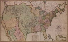 The United States of America, 1816.