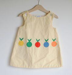 Vintage 1960's Saks Fifth Avenue Toddler Girl Jumper by hartandsew