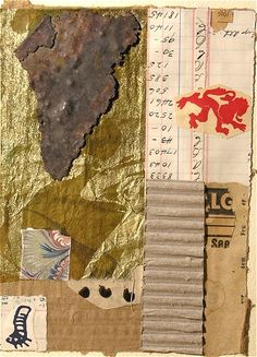 by John Rozelle, from Chicago, Illinois - International Museum of Collage, Assemblage and Construction, collage, collage art, collage artist, collage on paper, collage...