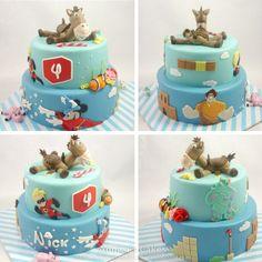 Disney infinity cake / taart