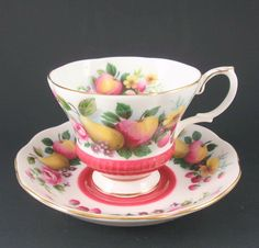 Royal Albert Country Fayre Series SURREY Cup & Saucer Set $24.95