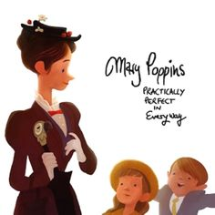 Mary, Jane, and Michael - Mary Poppins