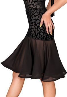 DSI Aria Latin Dance Skirt | Dancesport Fashion @ DanceShopper.com