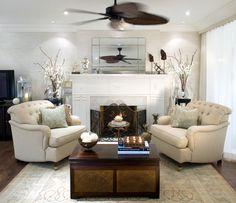 Al Estilo Jovial Y Divertido De Candice Olson. Living Room ...