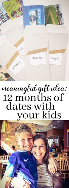 How a 12 months of pre-planned dates with your kids can transform  meaningful relationship.
