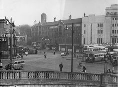 Mersey Square Stockport 1960's