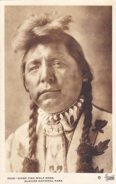 RP-Chief-Fish-Wolf-Robe-Glacier-National-Park-Montana-Native-American-1920-1
