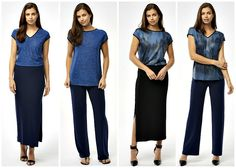 Convertible Reversible Clothing: 2 Pieces, 2 Completely Different Looks Diy Clothes, Clothes For Women, Clothes Refashion, Capsule Wardrobe Work, Travel Wardrobe, Business Professional Women, Colourful Outfits, Clothing Patterns, Dresses For Work