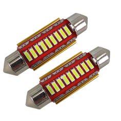 $2.21 (Buy here: https://alitems.com/g/1e8d114494ebda23ff8b16525dc3e8/?i=5&ulp=https%3A%2F%2Fwww.aliexpress.com%2Fitem%2FError-Free-Led-41mm-42mm-12V-4014SMD-Festoon-Interior-Light-Car-SV8-5-264-Led-Lamp%2F32383883232.html ) Error Free Led 41mm 42mm 12V 4014SMD Festoon Interior Light Car SV8,5 264 Led Lamp Bulb License Plate Light Pure White CANBUS for just $2.21