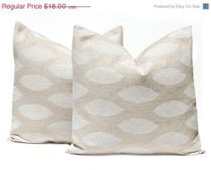 28X28 Pillow Insert Burlap Pillow Decorative Pillows Euro Pillow Euro Sham Cream Euro