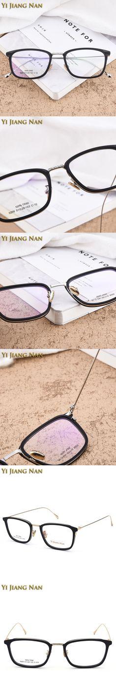 Yi Jiang Nan Brand Classic Design Female Prescription Glasses armacao para oculos de grau masculino Women's Glasses