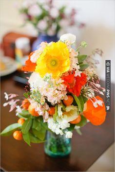 bright wedding bouquet with cumquats! | CHECK OUT MORE IDEAS AT WEDDINGPINS.NET | #weddings #weddingflowers #weddingbouquets #bouquets