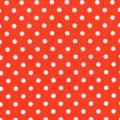 Michael Miller House Designer - Dumb Dot - Dumb Dot in Clementine